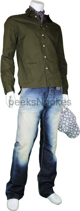 neu pepe jeans herren smoke blau baggy regular pm2000274. Black Bedroom Furniture Sets. Home Design Ideas